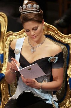 Princess Victoria Photos - Crown Princess Victoria of Sweden attends the Nobel Foundation Prize 2007 Awards Ceremony at the Concert Hall on December 2007 in Stockholm, Sweden. Victoria Prince, Princess Victoria Of Sweden, Princess Estelle, Crown Princess Victoria, Prince And Princess, Victoria 1, Princesa Real, Prix Nobel, Swedish Royalty