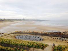20 th  March 7.40 am 2015 Tynemouth king Edwards bay sands beach www.tynemouthwebcam.com #eclipes
