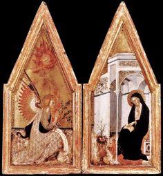 The Annunciation - Bartolo di Fredi - 1383