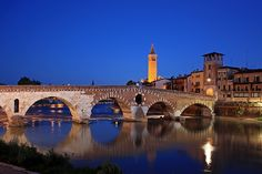 Ponte Pietra von Frank Seltmann
