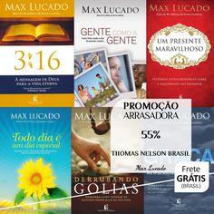 20 livros de Max Lucado na Promoção Arrasadora da Thomas Nelson Brasil - 55% cada