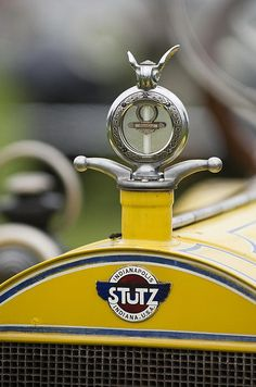 1914 Stutz Series E Bearcat Hood Ornament Photograph by Jill Reger - 1914 Stutz Series E Bearcat Hood Ornament Fine Art Prints and Posters for Sale Retro Cars, Vintage Cars, Antique Cars, Car Badges, Car Logos, Jet Packs, Car Symbols, Motos Vintage, Automobile