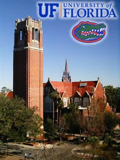 University of Florida. Gainesville, Florida. Perhaps.....still thinking but this is one of my top picks :)