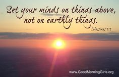 Set your mind..