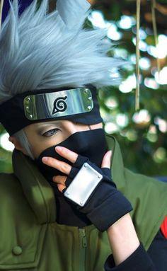 Kakashi Hatake - Naruto Kakashi Sensei, Gaara, Naruto Uzumaki, Anime Naruto, Boruto, Anime Cosplay Costumes, Naruto Cosplay, Cool Costumes, Anime Makeup