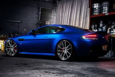 """Aston Martin Vantage S...I know this isn't necessarily part of a """"home"""" but I think I just fell in love for the first time in my life <3"""