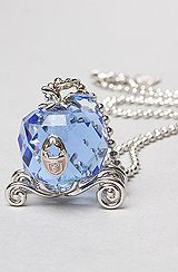 Disney Couture Jewelry The Icon Collection Cinderella Carriage Necklace- this is so pretty! Cute for making an already beautiful girl feel like a princess