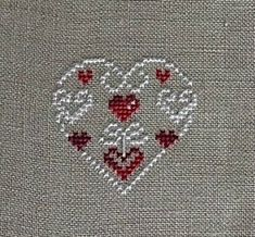 Thrilling Designing Your Own Cross Stitch Embroidery Patterns Ideas. Exhilarating Designing Your Own Cross Stitch Embroidery Patterns Ideas. Wedding Cross Stitch, Xmas Cross Stitch, Cross Stitch Heart, Cross Stitch Alphabet, Cross Stitching, Cross Stitch Flowers, Learn Embroidery, Cross Stitch Embroidery, Embroidery Patterns