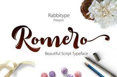 Romero Script OFF 75% By Olexstudio