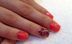"""""""Shelllac animal print""""  Lysam Nails Spa, creado para el cuidado y embellecimiento de tus manos y pies. Citas en Tel. (477) 717-7130"""