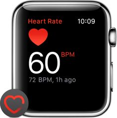 Learn how Apple Watch measures your heart rate, and get tips for a more accurate reading. Iphone Watch, Heart Rate, Nintendo Switch, Apple Watch, Watches, Learning, Monitor, Health, Tips