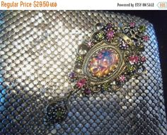 Christmas Sale Vintage Sarah Coventry Brooch by MartiniMermaid