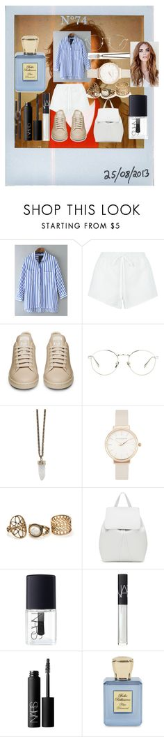 """N°74"" by marlinda212 ❤ liked on Polyvore featuring Polaroid, WithChic, Chloé, Linda Farrow, Givenchy, Olivia Burton, Mansur Gavriel, NARS Cosmetics, Chanel and Bella Bellissima"
