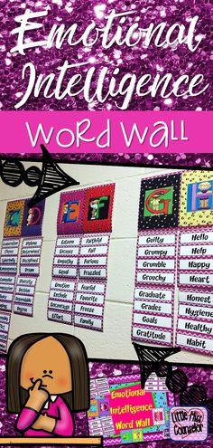 #emotionalintelligence #wordwall #schoolcounselingoffice #SEL