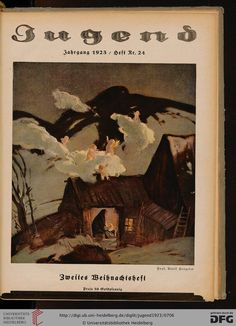Jugend, German illustrated weekly magazine for art and life, Volume 28.1, 1923.