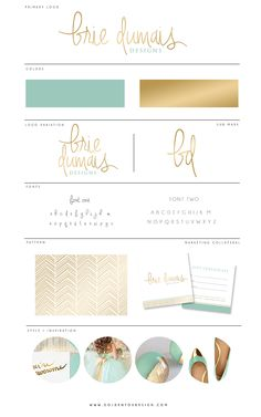 Custom Mood/Brand Boards   Golden Fox Design