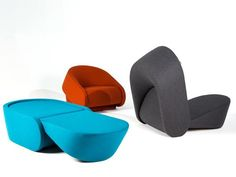"""sofa bed design"" - The average sofa bed design is chunky and not nearly as attractive as the UP-LIFT range from Prostoria. The design is an Interior Innovation Award . Sofa Bed Design, Furniture Design, Modular Furniture, Sofa Beds, Sleeper Chair, Ikea Dining, Armchairs For Sale, Chairs For Small Spaces, Physical Therapy"