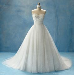 Cinderella Wedding Dress by aisha not a huge fan of the top but I LUV the shape