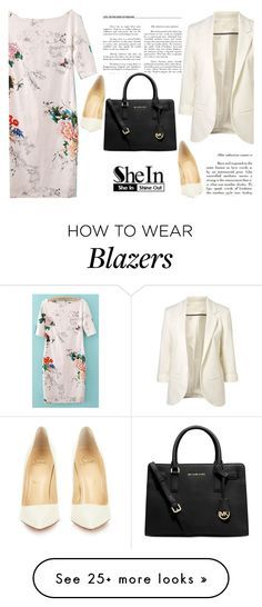 """""""Shein 10/10"""" by mell-2405 on Polyvore featuring Michael Kors and Christian Louboutin"""