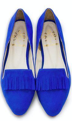 Fringe Flats Azul de venta en Sacional.com $750 pesos