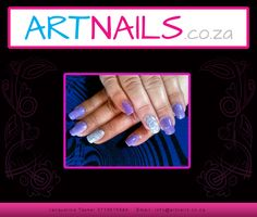 purple with silver glitter nail art Silver Glitter Nails, Glitter Nail Art, Acrylic Nail Art, Purple, Acrylics