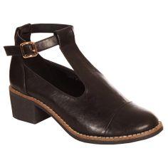 Ark Black T Bar Shoe www.ark.co.uk #ss14 #fashion #shop #trends #collars #dresses #hearts&bows #footwear