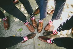 4th of July wedding with American flag mens dress socks