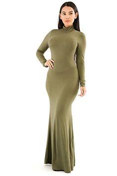 New GITI ONLINE Turtleneck Maxi Dress online. Find the  great Jax Dresses from top store. Sku gyxg41117ptws85313