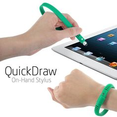 "On Hand"" Wristband / Bracelet Stylus"