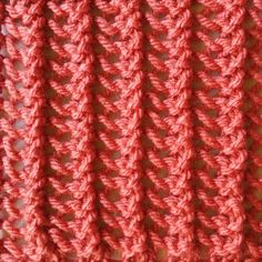 The Simple Vertical Lace stitch is a super easy lace stitch that runs vertically down the work. This lace stitch is a one row repeat and is knitted in a multiple of three stitches. Easy Scarf Knitting Patterns, Knitting Stiches, Knitting Charts, Loom Knitting, Crochet Stitches, Lace Patterns, Stitch Patterns, Crochet Patterns, Knitting Help