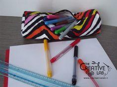 Ecco il #tutorial per un #astuccio #faidate perfetto per la #scuola e velocissimo da realizzare!