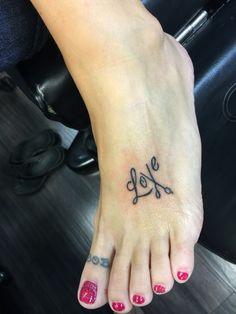 Hairstylist tattoo!