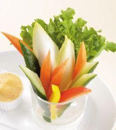 新鮮野菜のスティックサラダ   英国風パブ HUB   82ALE HOUSE