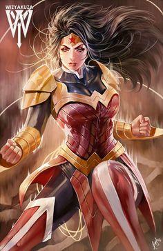 spyrale:  Wonder Woman by  Ceasar Ian Muyuela