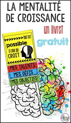 Free French growth mindset booklet French Teaching Resources, Teaching French, Teaching Ideas, Teaching Spanish, French Lessons, Spanish Lessons, High School French, Growth Mindset Activities, Inquiry Based Learning
