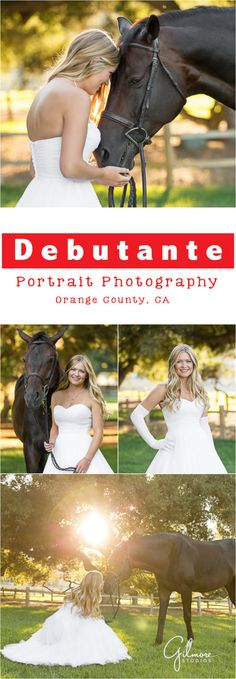 San Juan Capistrano Debutante Portrait Photography At The Ranch