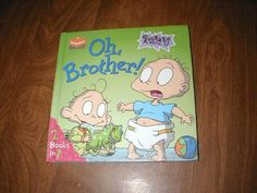 Reptar's Surprise Visit / Oh, Brother! - 2 books in 1 (1999) ~~ for sale at Wenzel Thrifty Nickel eCRATER store