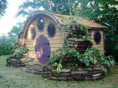 Hobbit-Holes-for-Work-or-Play I want this in my backyard....