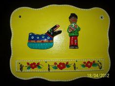 artesvanfranz: Peças de artesanato em Cerâmica - temas do folclore do litoral catarinense