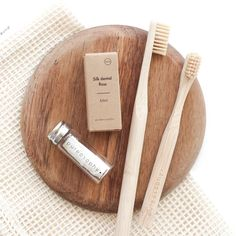 Taking care of your teeth properly is super important but that doesn't mean the process has to involve plastic. Our natural and… Eco Brand, Zero Waste, Reduce Waste, Eco Beauty, Dental Floss, Plastic Waste, Natural Cleaning Products, Sustainable Living, Biodegradable Products