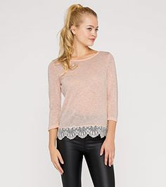 Pullover in rosa Pullover, Kind Mode, Peplum, Tunic Tops, Sweatshirts, Blouse, Long Sleeve, Sleeves, Sweaters