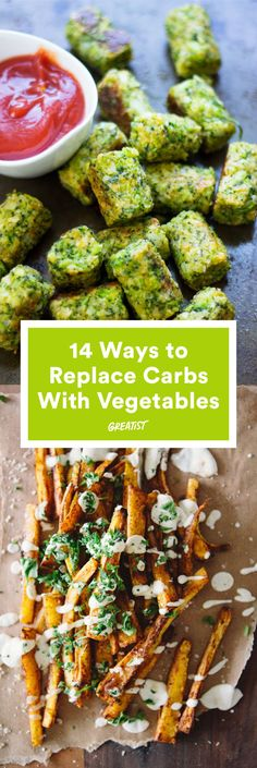 For when you feel like lightening things up a bit. #greatist http://greatist.com/eat/vegetables-that-replace-carb-heavy-foods