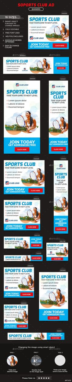 by Hyov on GraphicRiver. Promote your Products and services with this great looking Banner Set. 16 awesome quality banner template PSD files r. Sports Shoes For Girls, Girls Season, Shoe Sites, Goals And Objectives, Banner Images, Healthy People 2020 Goals, Sports Clubs, Sport Motivation, Banner Template