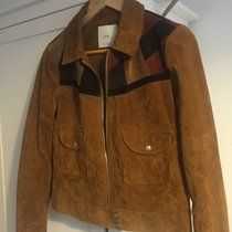 Mango Suede Jacket MNG, UK size Medium, 100% real genuine suede, worn a hand full of times in brilliant condition