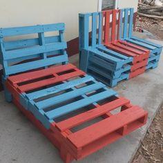Pallet Garden Chairs   1001 Pallets ideas !   Scoop.it