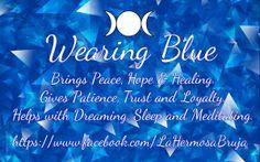 Wearing Blue by La Hermosa Bruja
