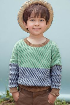 hat & sweater! cute boy too:)