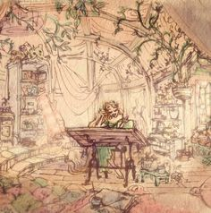Tangled visual development by Claire Keane (x)