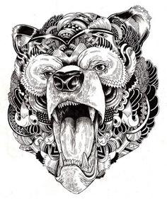 Incredibly Detailed Animal Illustrations - My Modern Metropolis  #illustration #design #inspiration