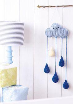 Crochet weather mobile Crochet Pattern